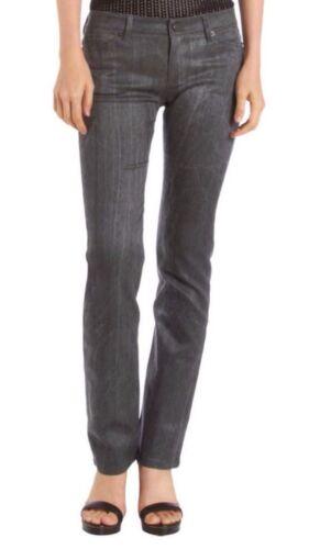 Leg Made Straigh Nwt a Jeans grigio vita normale y Twill Size27 220 elasticizzato Troa N c In 5SwH6q