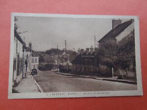 cpa-89-YONNE-Bleneau-avenue-henri-Barbusse