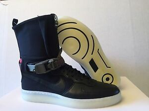 NIKE AF1 DOWNTOWN HI SP ACRONYM BLACK AIR FORCE 1 NIKELAB 649941 006 ... 91c966d82