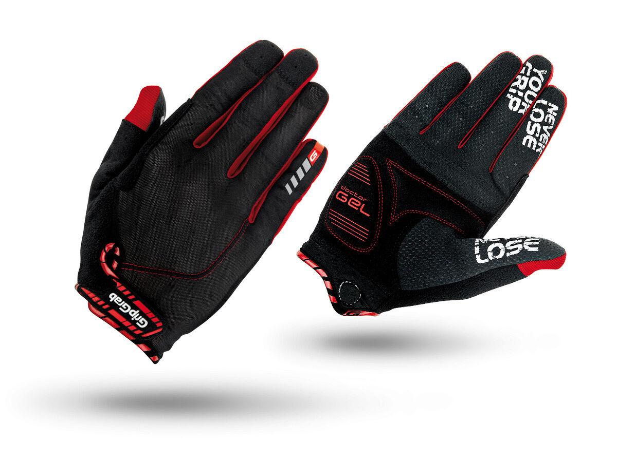 GripGrap Fahrradhandschuhe SuperGel XC - Vollfinger-Handschuh