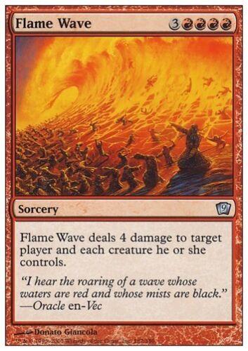 9th Edition *Damage FOIL NM* MTG 1x FLAME WAVE