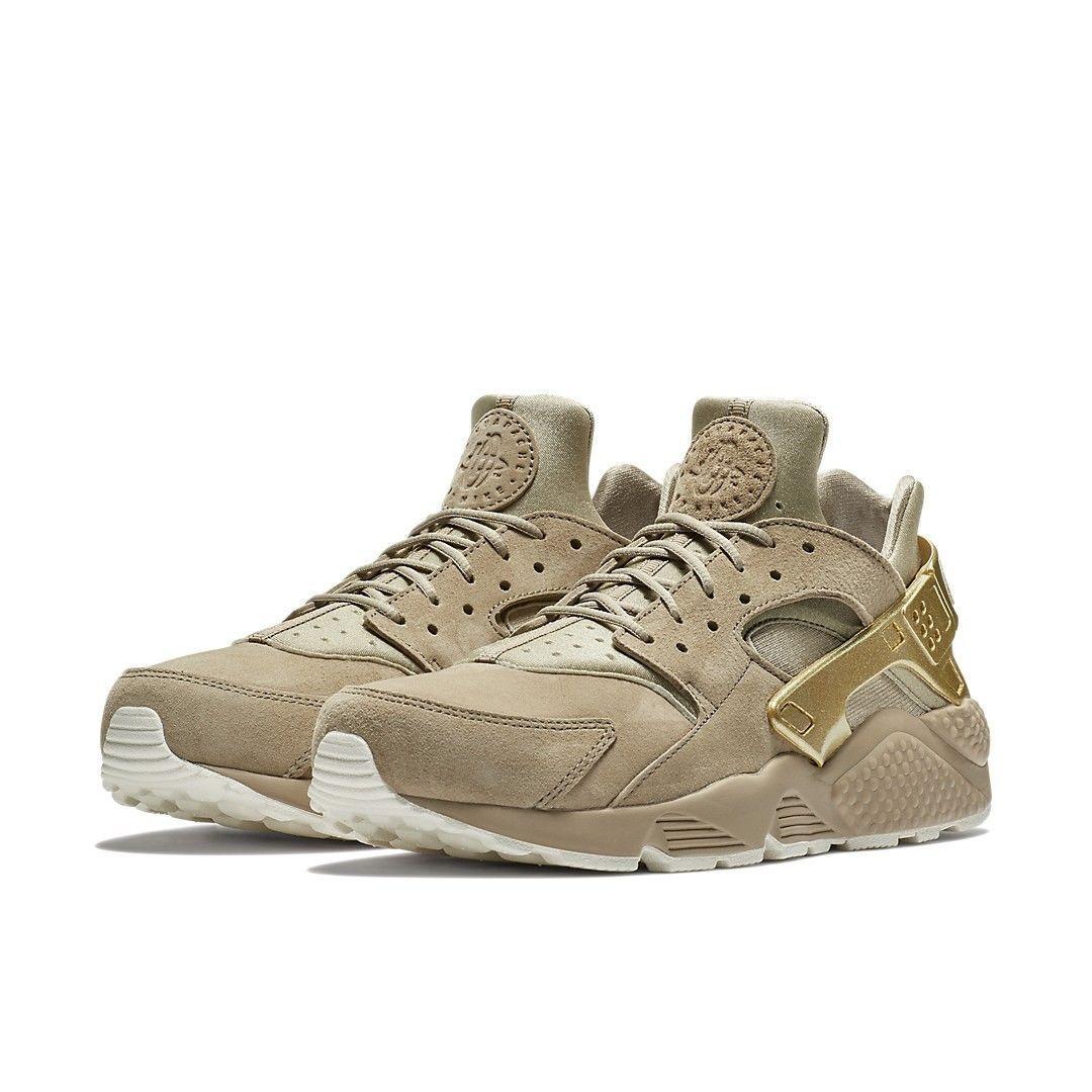 Nike air huarache lauf prm prm prm männer laufschuh khaki an metallischem gold 704830 201 af97ee