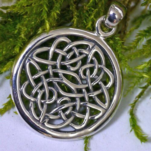 Peter Stone keltischer Knotwork Schmuckanhänger 925 Silber Unendlicher Knoten