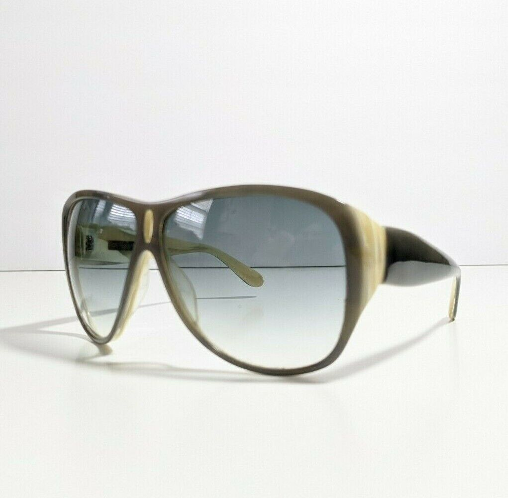 Derek Lam Olivia Aviator Tinted Lenses Sunglasses Handmade in Japan Gray Grey