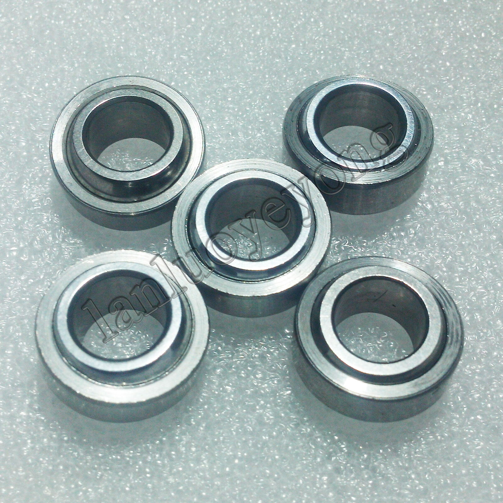 New 5pcs GE15C 15x26x12mm Spherical Plain Radial Bearing