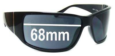 SFX Replacement Sunglass Lenses fits Police 1532 68mm Wide Lens