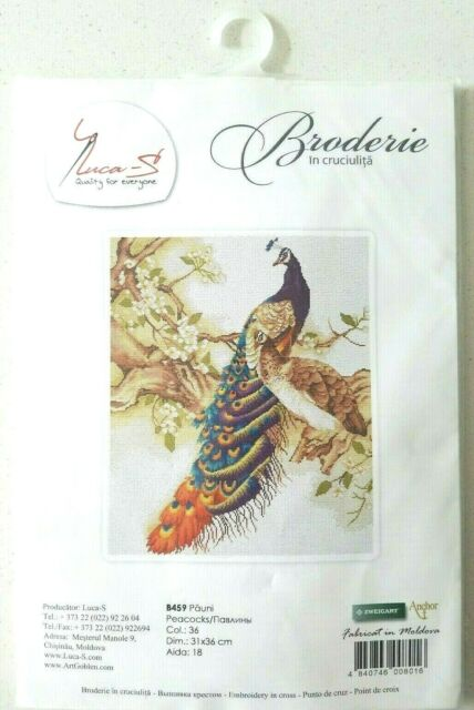 Luca-S B1113  Sounds of a forest  Counted cross stitch kit  16 count