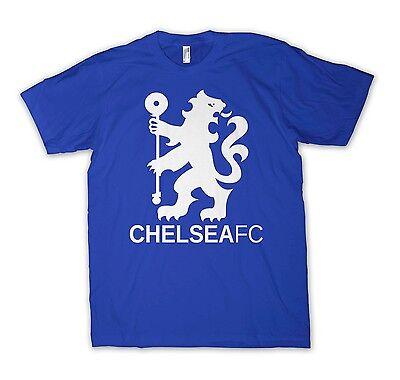 Chelsea FC Lion Shirt - S to 5XL Crest Premier League Symbol Soccer Football CFC