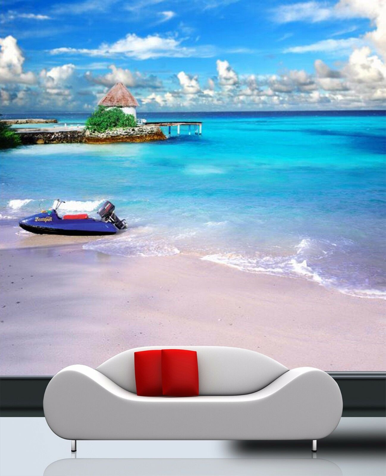 3D Coastal vessels 2535 Wall Paper Wall Print Decal Wall Indoor Murals Wall US
