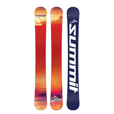 Summit Custom 110cm Skiboards Snowblades + Kit to Use your Snowboard Bindings | eBay