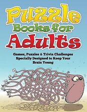 Puzzle Books for Adults (Games, Puzzles and Trivia Challenges Specially...