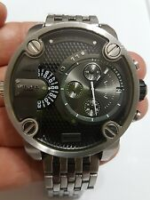 Diesel Men's SBA DZ7259 Silver Stainless-Steel Quartz Watch Pre-Owned
