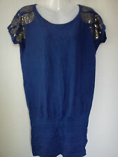 **STUNNING**NEW STUD LADIES WOMENS JUMPER TUNIC TOP  SIZE 14  (0.2