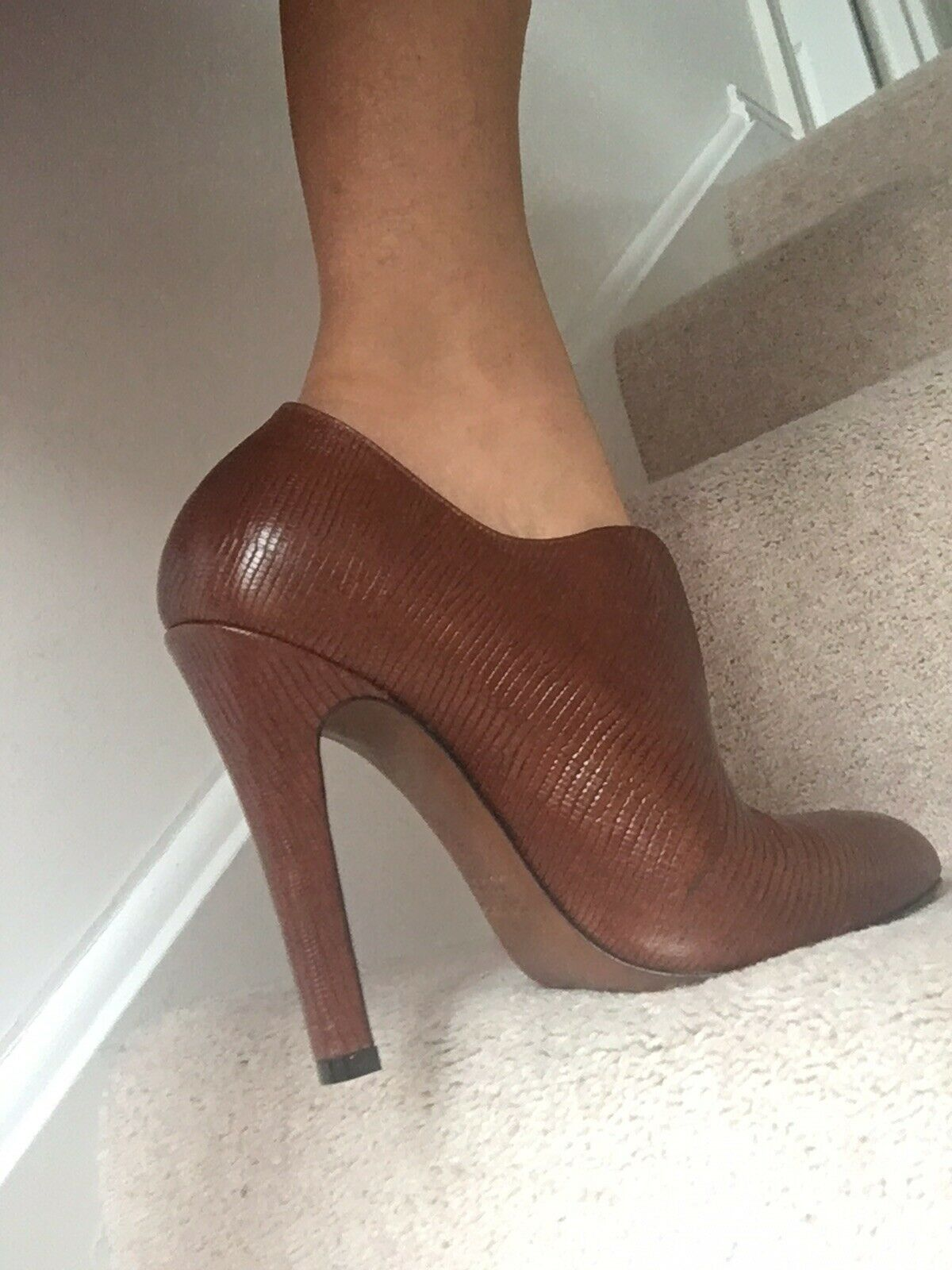 Kallisté all leather heels 4.5 Taille38 5uk PPr
