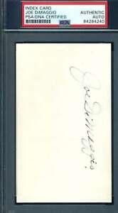 Joe-Dimaggio-PSA-DNA-Coa-Autograph-Hand-Signed-3x5-Index-Card