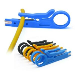 Mini Portable Wire Stripper Crimper Pliers Crimping Tool Cable Cutter Stripping