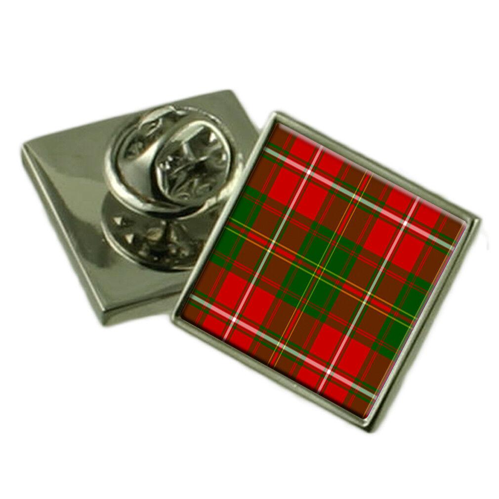 Tartan Clan Clan Clan Hay argentoo 925 bavero pin badge 34664f