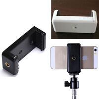 Mini Universal Mobile Cell Phone Clip Bracket Holder For Tripod/Monopod Stand