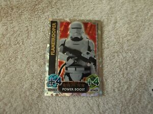 Topps-Star-Wars-Force-Attax-034-FLAMETROOPER-034-223-Power-Boost-Card