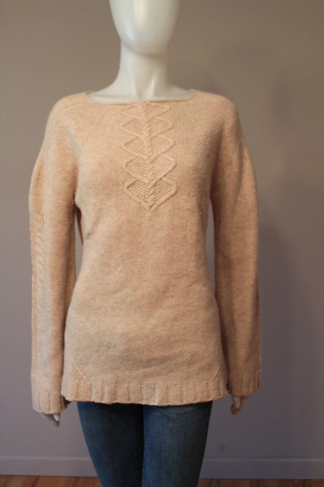 Max Studio Wool Cashmere Sweater Large L