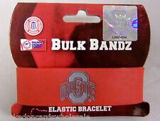 Ohio State Buckeyes OSU Logo Elastic Bracelet Wrist Band