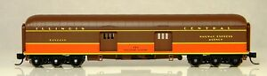 NIB N Wheels of Time 398 64' Round Roof Baggage Express Car IC #673