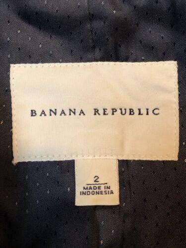 Republic un Blazer Banana New Veste bouton 2 Navy à z654nxnwq