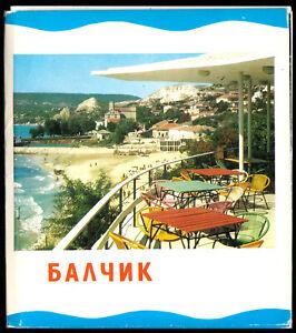 Fotomappe-mit-15-3-farbigen-Fotos-Balschik-Bulgarische-Schwarzmeerkueste-1975