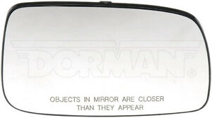 Door Mirror Glass Right Dorman 56160 fits 07-11 Toyota Camry
