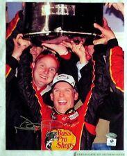 JAMIE MCMURRAY SIGNED AUTOGRAPH 8x10 NASCAR RACING PHOTO SMC COA