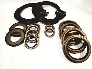 Rockwell 5 Ton Front Axle Zipper Boot and Seal Kit M809 M939 M54