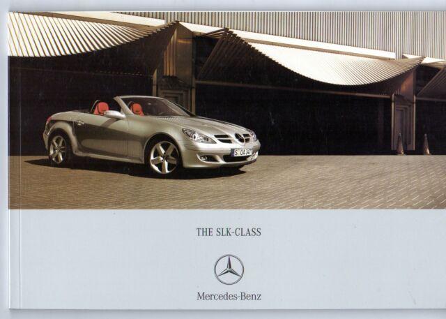 Mercedes Benz Slk 2006 08 Uk Market Sales Brochure 200k 280 350 55 Amg For Sale Online Ebay