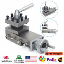 Metal Lathe Cross Slide And Tool Holder Compound Lathe Parts Stroke 90mm M535