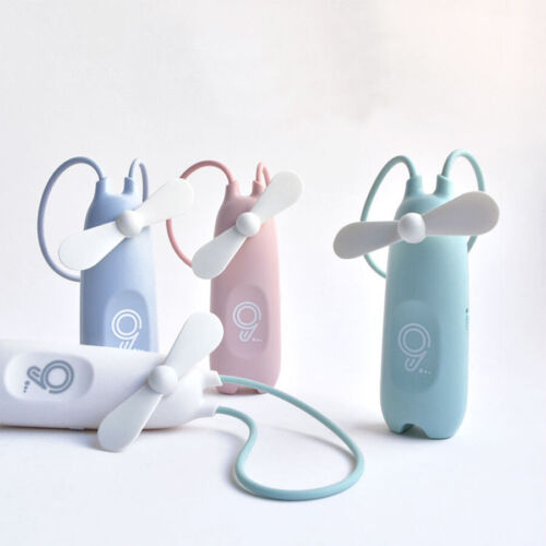 Portable Handheld Fan Mini Pocket Battery Rechargeable Travel Blower Cooler Fans