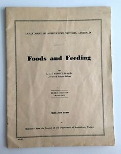 Foods-and-Feeding-1967-A-C-T-Hewitt-10th-Tenth-Edition-Department-of-Agriculture