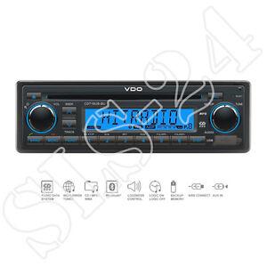 VDO-CD716UB-BU-12V-FM-RDS-Bluetooth-CD-Radio-AUX-In-USB-MP3-Autoradio-CAR-Tuner