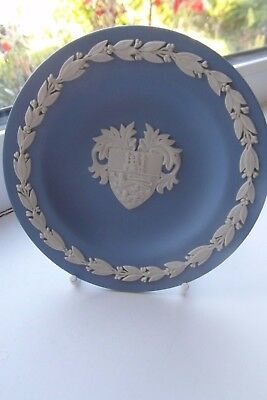 Wedgwood 900th Anniversary Lincoln Cathedral Plate Jasperware Special Edition