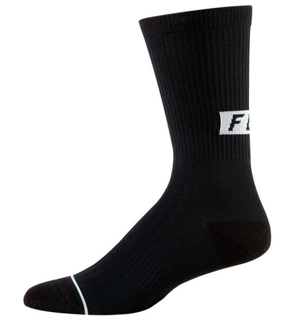Fox Racing Trail 8 Sock Black LG//XL