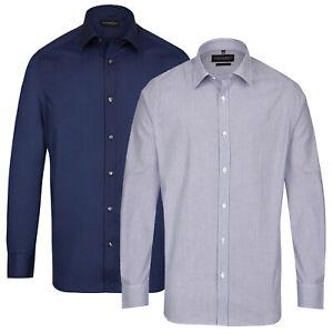 Steffen-Klein-Herren-Hemd-Business-Comfort-Regular-Fit-Kentkragen-Langarmhemd