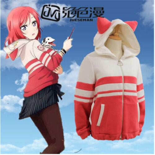 Love Live Sonoda Minami Tojo Maki Nico Cosplay Costume Animal Hoodie Sweater