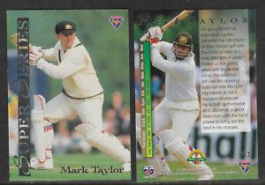 MARK-TAYLOR-Australia-1994-FUTERA-ASHES-SUPER-SERIES-CRICKET-CARD-SS2