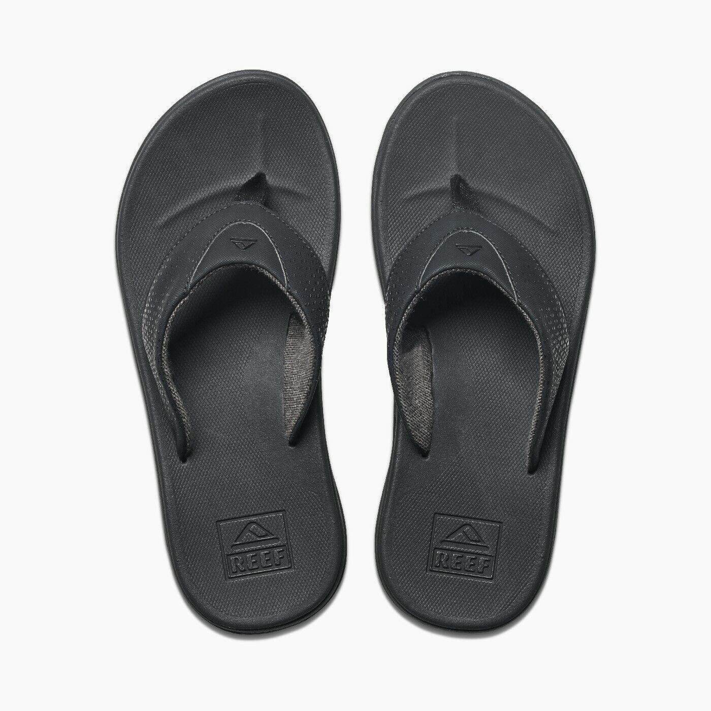 Reef Sandals - Men's Flip Flops - Rover - Black - RF002295BLA - BLA