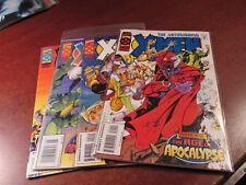 Astonishing X-Men Age of Apocalypse #1 2 3 4 Mini Series Comic Book Set 1-4 COOL