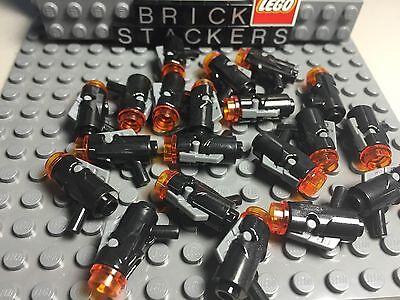 LEGO MINIFIGURE LOT OF 10 STAR WARS MEDIUM BLASTER SHOOTER GUNS ACCESSORIES