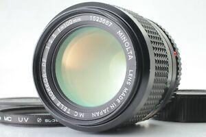 N-MINT-Minolta-MC-Tele-Rokkor-PF-f-2-5-100mm-SLR-35mm-Film-Camera-aus-Japan