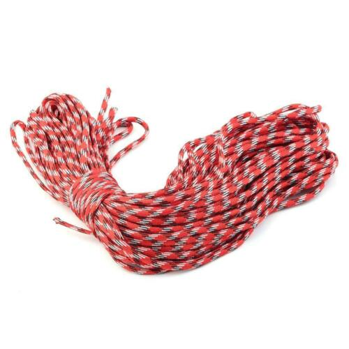 550 Paracord Parachute Cord Lanyard Mil Spec Type III 7 Strand Core New 100FT GA