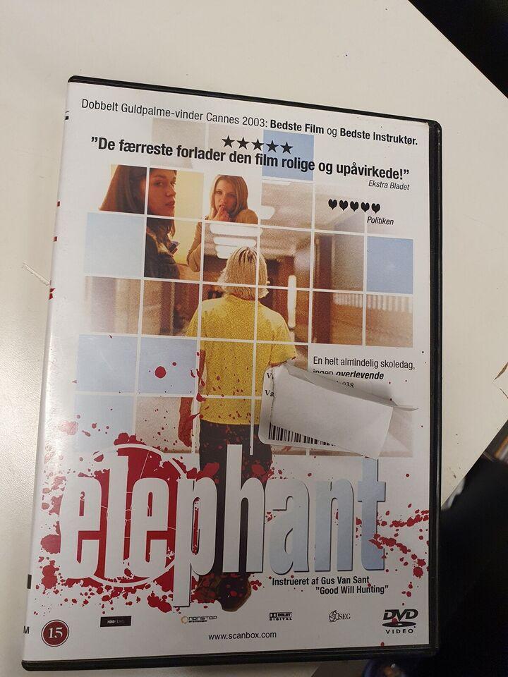 Elephant, DVD, drama