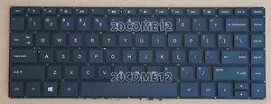 Original New for HP Pavilion 14-c030us 14-c035us 14-c050nr 14-c053cl Chromebook US Keyboard with Frame