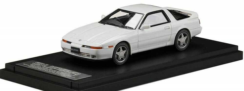 MARK43 1 43 Toyota Supra A70 2.5GT Doppel Turbo R Limitierte Super Weiß IV Japan