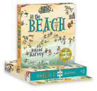 At the Beach Book and Jigsaw Puzzle by Roland Harvey (Spiral bound, 2015)